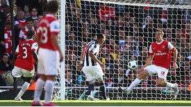 West Brom shocked Arsenal at the Emirates last month, and Newcastle did the same on Sunday